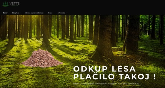 Odkup lesa Vette d.o.o.